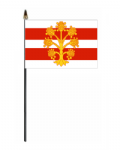 Westmorland Hand Flag - Small.